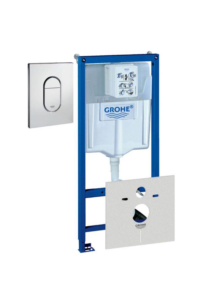 Grohe Rapid SL wc element Incl Skate Bedieningsplaat