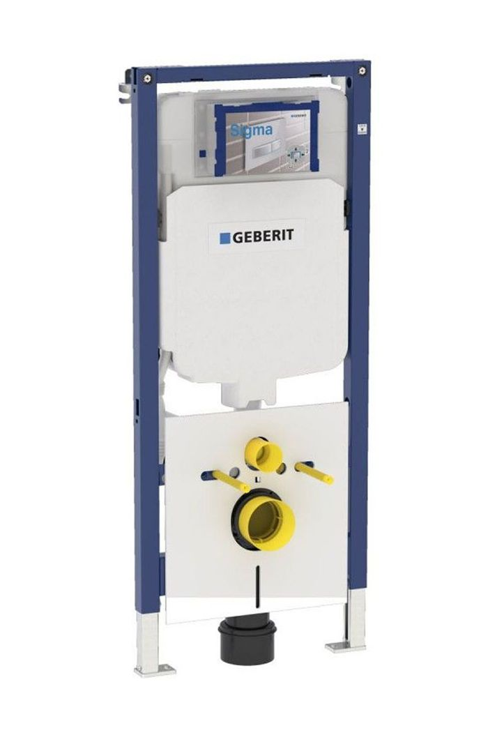Geberit Duofix wand-WC element Ruimtebesparend 114x50 cm wit